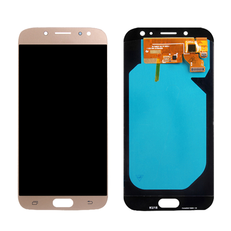 5.5 inch AMOLED Display For SAMSUNG Galaxy J7 Pro 2017 LCD J730 Touch Screen J730F for Replacement