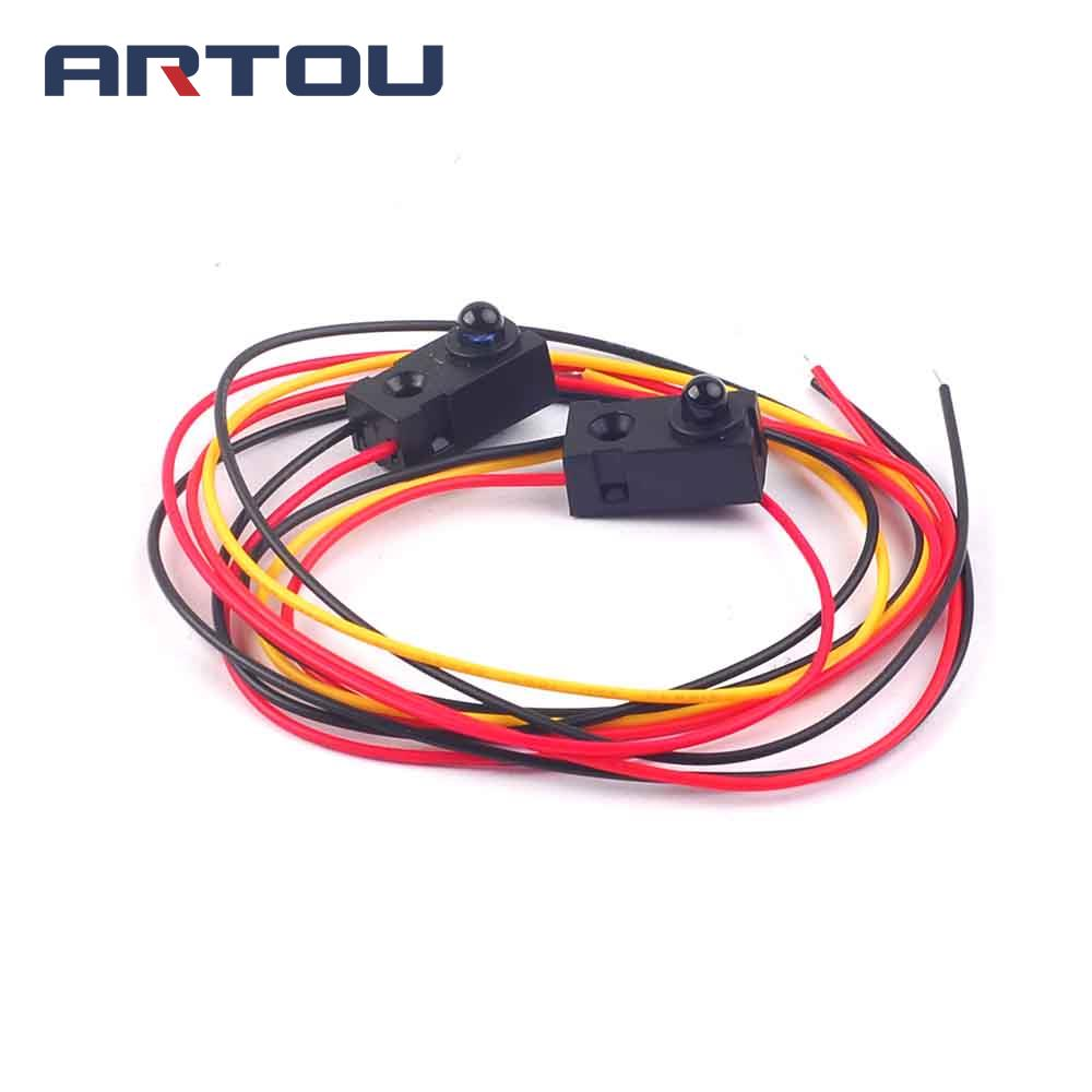 1pcs Ir Infrared 4 Wire Flame Detection Sensor Module Proximity Switch Circuit Using A Lm393 Voltage A11 Control Tube On The Photoelectric Qt50cm Distance