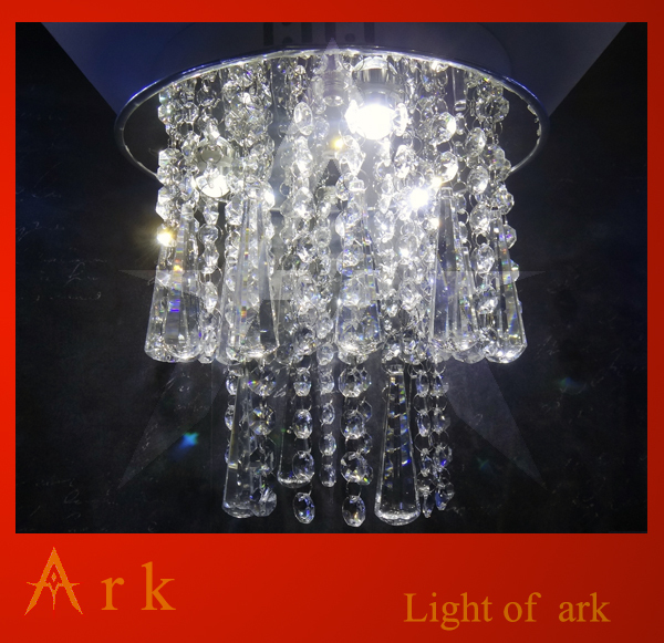 Free shipping K9 crystal LED ceiling lamp crystal light -02 ...