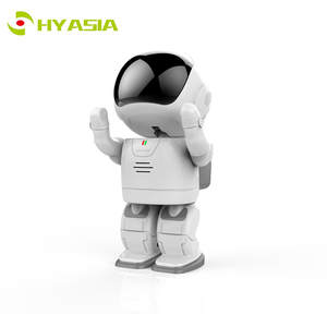 HYASIA Baby-Monitor Cam-Toy Robot Wifi-Camera 1080p with Two-Way Audio-Day Night-Ir Accompany