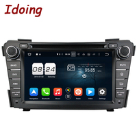 Idoing Steering Wheel Fit Hyundai I40 Car DVD Player 2Din7inch Android5 1GPS Navigation Phone Link 3G