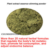More 20 Traditional Chinese herbal extract essence slimming powder Adjust metabolic balance burn fat and drain weight loss safe
