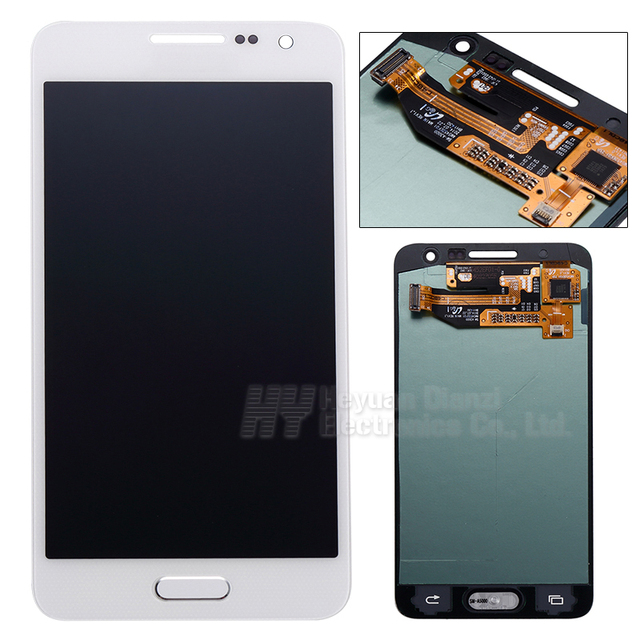 Wholesale 100% Original For Samsung galaxy A3 lcd display touch screen digitizer A300X A300 A300H A300F screen freeshipping