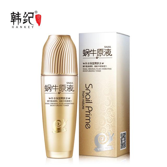 Hankey esencia caracol cuidado facial de la piel de tóner blanqueamiento de tóner de control de aceite hidratante anti-envejecimiento cuidado de la piel reafirmante reducir los poros