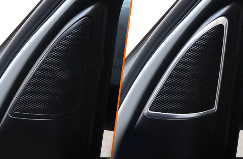 Door Speaker Stereo cover trim  For Land Rover LR4 Discovery 4  2010 2011 2012 2013 2014 2015 for land rover lr4 discovery 4 trunk security shield cargo cover shade black 2010 2011 2012 2013 2014 2015