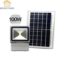 Solar Flood Light 100W Spotlight Outdoor Garden Camping Lawn Lamp Refletor Led Multi purpose Split Waterproof IP65