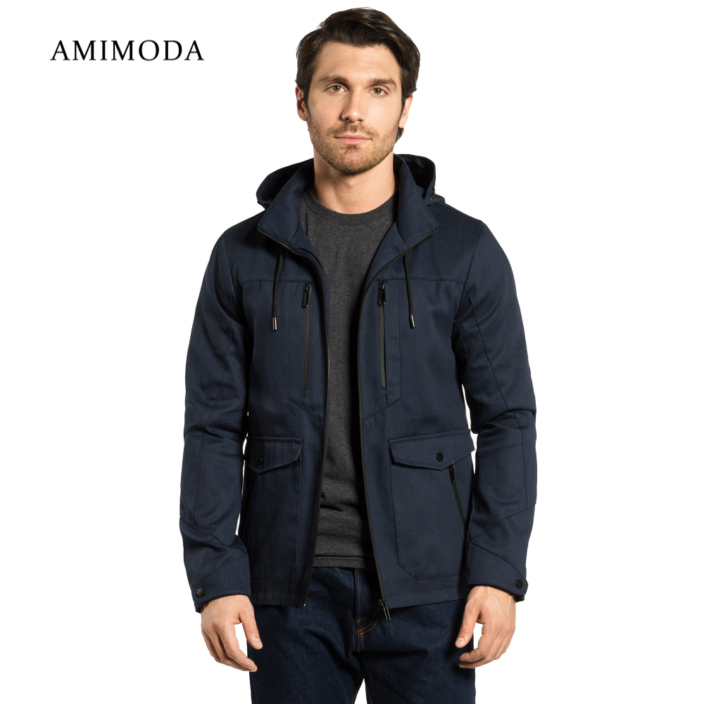 Jackets Amimoda 10009-02 Men\'s Clothing windbreakers for men cloak jacket coat parkas hooded girls jackets