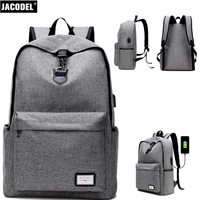 Jacodel Businees Computer Backpack Bag For Laptop HP Xiaomi Girls Casual Back Pack For Computer Bag