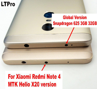 Battery Door For Xiaomi Redmi Note 4 Note4 Pro Prime Rear Back Battery Cover Housing Cover