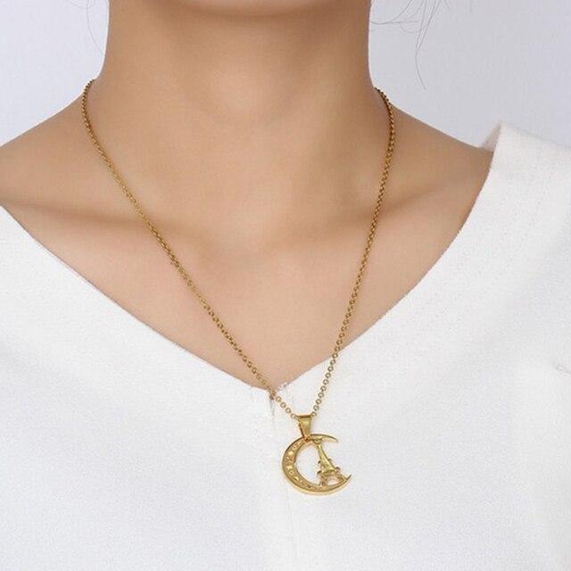 Eiffel Tower Pendant Necklace