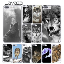 186F Classic Cool Wolf Hipster Print Hard Transparent Case Cover for iPhone 4 4s 5 5s 5c SE 6 6s Plus simple classic bumper frame case for iphone 5c yellow transparent