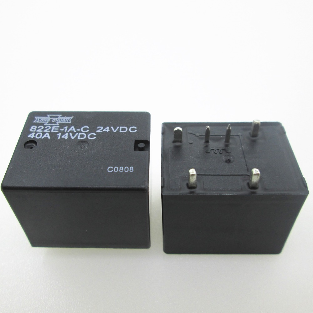 HOT NEW relay 822E 1A C 24VDC 822E 1A C 24VDC 24VDC DC24V 24V 40A 6PIN