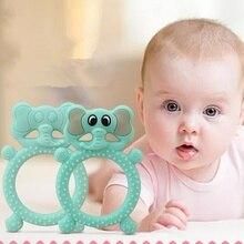 New Cartoon Silicone Baby Teething Molar Sticks Soothing Bite Toys Nursing Care