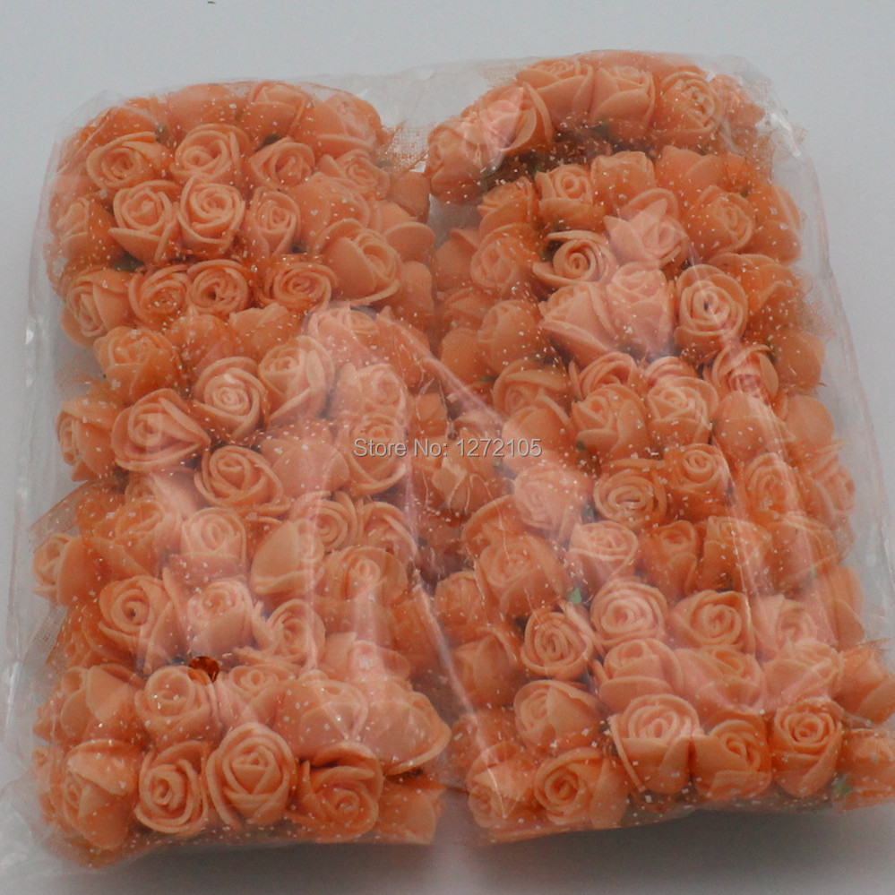 Organza Ribbon Flowers 2015 New 2.5cm Small PE Roses With Gauze ...