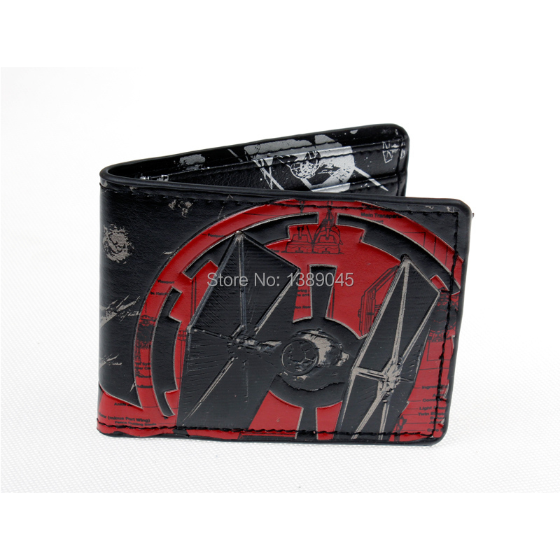 Star Wars Wallet Geek Wallet short animated cartoon boys and girls  Wallet DFT-1098 star wars boys black