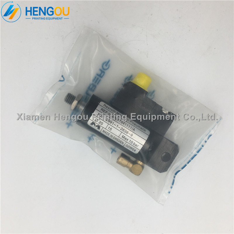 1 Piece China post free shipping Heidelberg SM102 SM74 Printing Machine Part Air Cylinder/Valve 61.184.1111 china post free shipping 1 piece heidelberg sm102 sensor 61 198 1563 06 61 198 1563