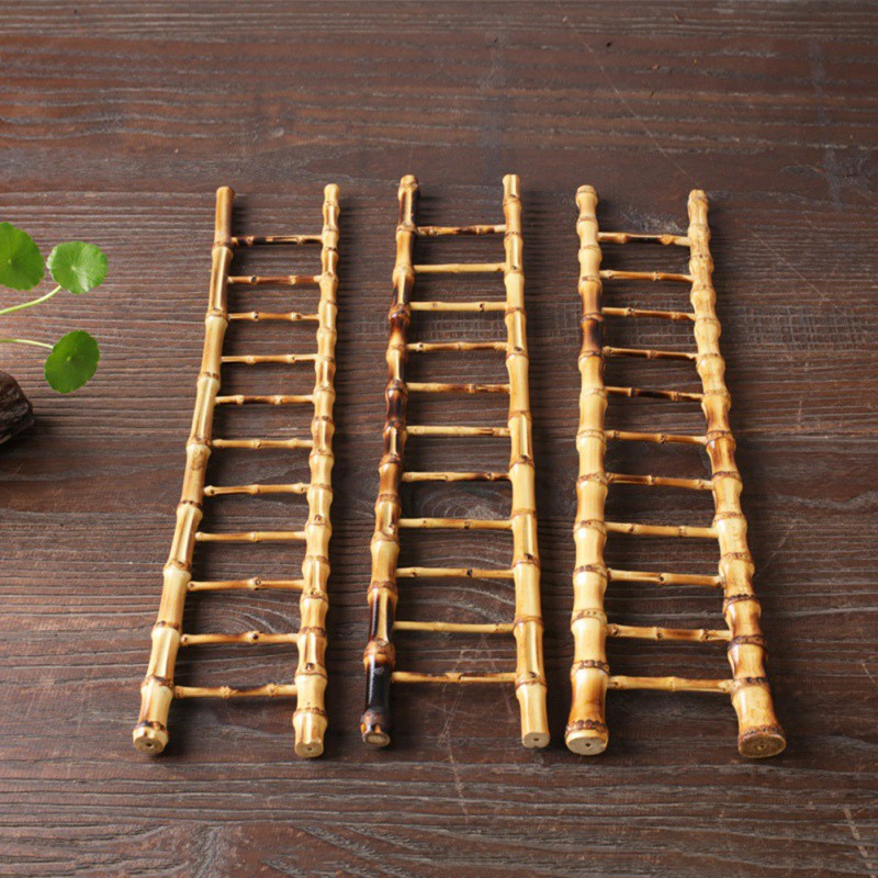Cup Drying Bamboo Ladder 4