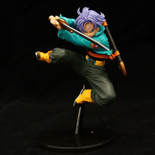 15cm Dragon Ball Z Super Saiyan Trunks Action Figure PVC Collection figures toys for christmas gift brinquedos Collectible