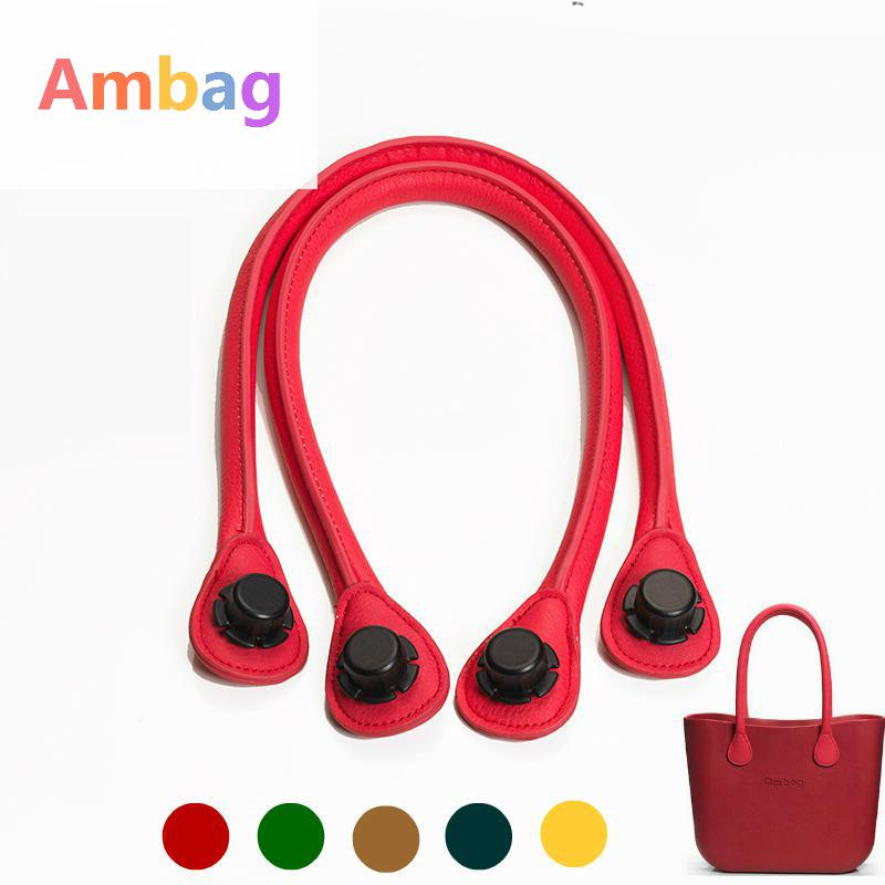 New Colour 1 Pair Long Size Pu Leather Rope bags Handles bag AMbag Women's Bags Shoulder handles Accessories DIY AM oBag Handle 1 pair hemp rope handles for ambag accessories diy women s bags shoulder o bag handbag handle size long short obag accessoires