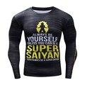 3D Rashguard Brand Clothing Compression Shirt  Quick Dry Fitness Clothing Plus Size Dragon Ball T shirt Hip Hop Gym-Clothing