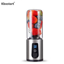 Mini USB Rechargeable Fruit Juicer Machine Cup Personal Blender Mixer Smoothie Maker Household Portable Glass Extractor De Jugo