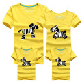 1Psc Family Matching Outfits T-shirt Cloth For mother father baby 2016 Summer family clothes mother father daughter son Clothing