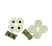 300 ensembles/lot tampons en caoutchouc adhésifs conducteurs pour Playstation 3 PS3 contrôleurs boutons réparation pièces de rechange