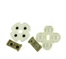 300sets/lot Conductive Adhesive Rubber Key Pads For Playstation 3 PS3 Controllers Buttons Repair Parts Replacement