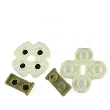 300sets/lot Conductive Adhesive Rubber Key Pads For Playstation 3 PS3 Controllers Buttons