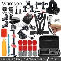 Vamson For Gopro Accessories 39 In 1 Kit Set For Gopro Hero 6 5 4 3