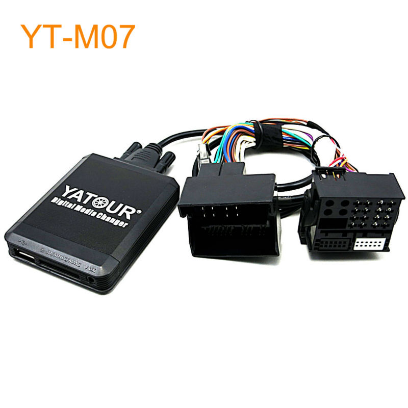 Yatour Car MP3 USB SD CD Changer for iPhone for iPod AUX with Optional Bluetooth for Opel Antara Astra Corsa Combo Vectra Zafira yatour car adapter aux mp3 sd usb music cd changer 8pin cdc connector for renault avantime clio kangoo master radios