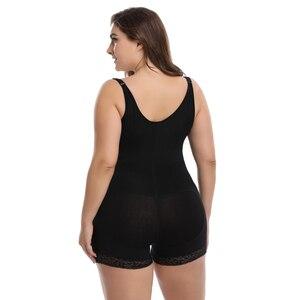 Image 2 - ボディシェイパーラテックスボディニッパー女性バットリフターおなかコントロールボディシェイパースリミング下着ガードル尻エンハンサー胃整形