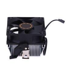 Computer CPU Cooler Heatsink Radiator Processor Cooling Fan 30mm 7 Blades 8cm Ventilador for AMD754 939 940 AMD Athlon64 5200+