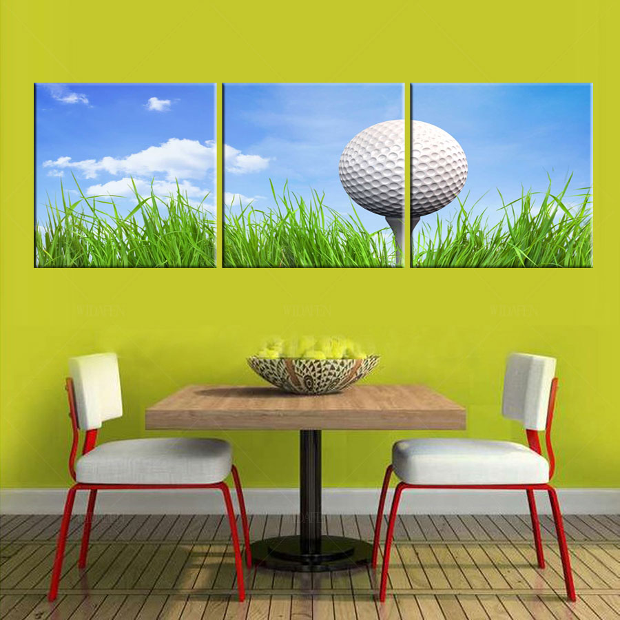 Contemporary Golf Wall Decor Ornament - The Wall Art Decorations ...