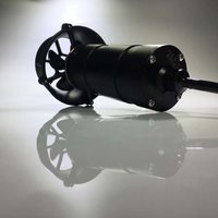 RCD MI50 тяга 5 кг под водой 300 м 24 В с масляными уплотнителями двигатель Propulsor используется щеточный мотор постоянного тока для ROV AUV подводная ло