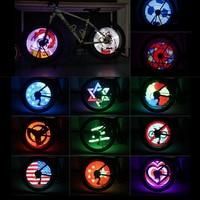 Bluetooth Intelligente Contrôle De Roue Roue de Bicyclette Lumière LED Lumières 192 Pièces RVB Soutien APP DIY Feux De Roue