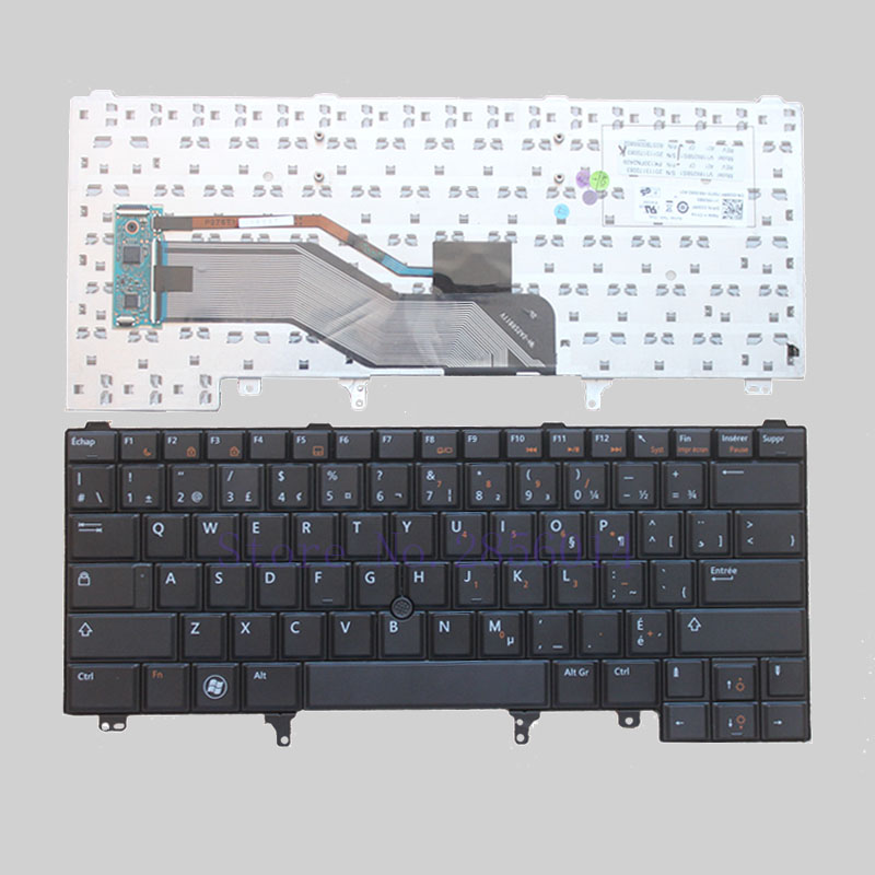 NEW Canada <font><b>keyboard</b></font> for <font><b>Dell</b></font> Latitude E6420 E5420 E5420M E5430 E6220 <font><b>E6230</b></font> E6320 E6330 E6430 E6430s CF black Laptop <font><b>Keyboard</b></font> image