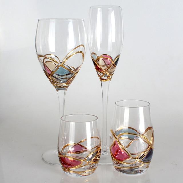 verre a vin de luxe