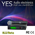 UHF PRO Wireless Microphone System SLX24 /BETA58 Handheld  Wireless Microphone  Vocal Mic for Stage Karaoke DJ