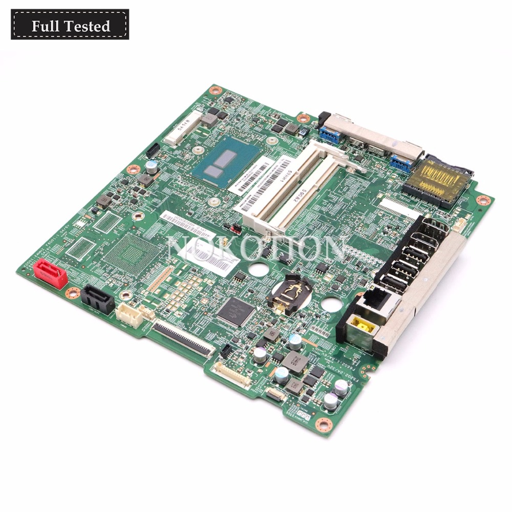 NOKOTION S5030 MB 14055-2 348.01X05.0021 For lenovo C50-30 All-In-One AIO Motherboard  5B20K70170 SR24B 3825U CPU DDR3NOKOTION S5030 MB 14055-2 348.01X05.0021 For lenovo C50-30 All-In-One AIO Motherboard  5B20K70170 SR24B 3825U CPU DDR3
