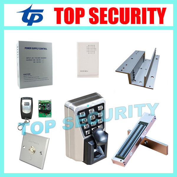 MA500 IP65 waterproof TCP/IP metal door access control system fingerprint and RFID card time attendance and access control kit biometric fingerprint access controller tcp ip fingerprint door access control reader