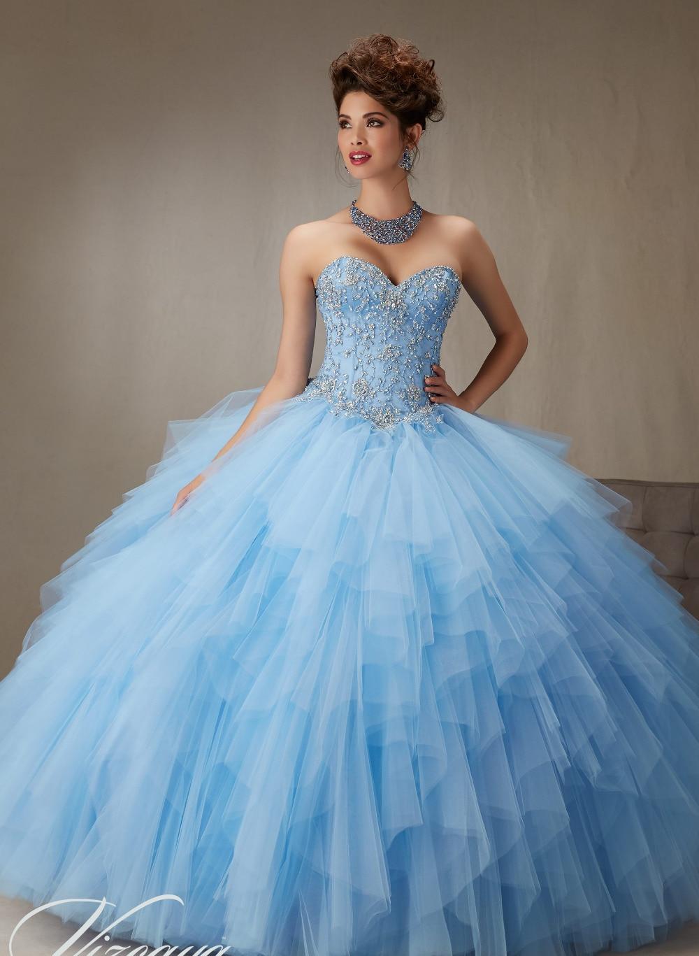 Aliexpress.com : Buy Vestidos de 15 anos Cheap Quinceanera ...