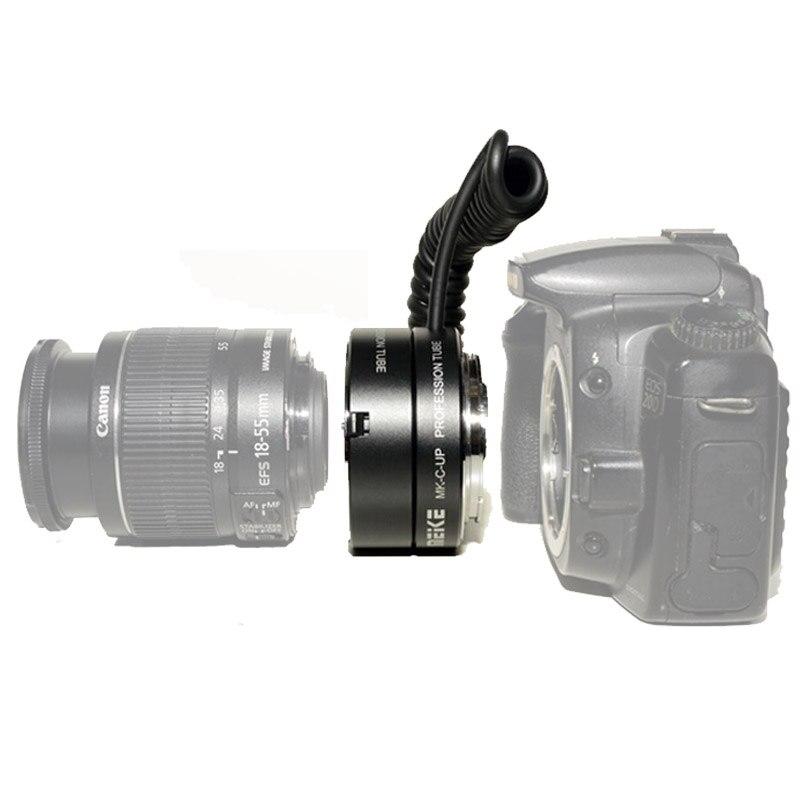 Meike MK-C-UP Auto Macro Tube d'extension AF adaptateur inverse pour appareil photo reflex numérique Canon