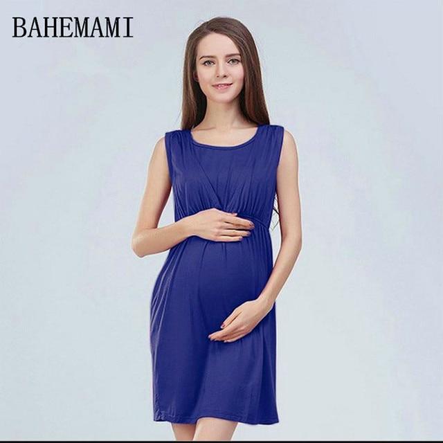 2018 Mama Amore Maternità Vestiti Lunghi Vestiti Di Maternità  Infermieristica Abito incinta Vestito di gravidanza per 851a71572c0