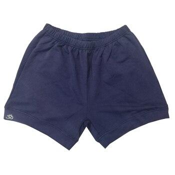 Men Iyengar Shorts 95% Cotton Navy Shorts Male Thicker Elastic Cotton Shorts Professional Iyengar Clothing b k s iyengar yoga