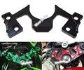 CNC Alumínio Guarda Pad Triple Tree Top Braçadeira Superior Front End jugo Para Kawasaki 250 Ninja 300 EX250 EX300 2013 2014 2015 2016