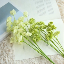 1 Stem Dandelion Artificial Flowers 50cm Silk Flower for Wedding and Party Decoration