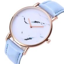 Простой Мрамор узор сплав золота циферблат черный 20 мм кожаный ремешок Для женщин пара Бизнес кварцевые часы Для женщин часы наручные C71