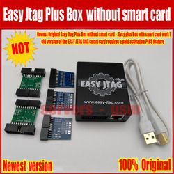 2018 Newest 100% Original Easy Jtag Plus Box without smart card (Easy plus Box with smart card work ) Free Shipping