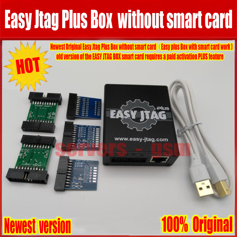 2018 Newest 100% Original Easy Jtag Plus Box without smart card (Easy plus Box with smart card work ) Free Shipping